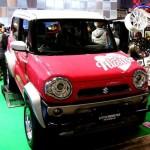 東京オートサロン2014、スズキ新型軽自動車ハスラーのカスタム(改造)を展示!内装をチェックしておこう!ヤン車仕様にできるのか!?