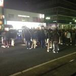 ヤンキー200人とパトカー15台!!岡山駅でおきたリアルDQN警察24時