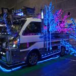 大阪オートメッセ2014!ヤン車なデコトラ、軽トラ「ハイゼットトラック」が登場!