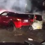 福岡DQN暴走事件!脱法ハーブを吸ってランドローバーレンジローバーイヴォーク(Range Rover Evoque)で暴走!