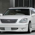 ヤンキーでヤン車なTOYOTA(トヨタ)セルシオ(CELSIOR)30後期!130万円以上のカスタムなVIP車!