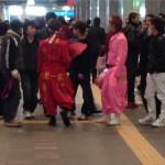 2014年も!特攻服に刺繍で卒業生DQNヤンキーが福岡県博多駅に大集結!!ネットの反応は?