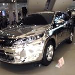 TOYOTA(トヨタ)新型ハリアーミラーカスタム(改造)がフルスモークでVIPなヤン車過ぎる!!