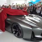 走り屋もヤン車乗りも注目!日産(NISSAN)がグランツーリスモフルサイズモデルを公開!