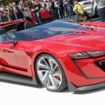 フォルクスワーゲン(VW)新型車GTIロードスター(カブリオレ)を公開!!フルカスタム並みのスタイルにダサい!かっこ悪いと話題!