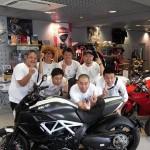 レイザーラモンRGが愛車(バイク)ドゥカティディアベルを購入!!RGツーリングクラブリーダーらしい愛車(バイク)!