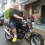 安田大サーカスHIROもバイク芸人!愛車(バイク)は日本に1台ハートフォードMini150!アップハンからもカスタム進行中!