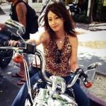 てんちむ(橋本甜歌)がレンタルバイクのハーレーダビッドソンを愛車にツーリング!!大型二輪車姿が女前すぎる!!