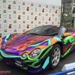 1600万円究極の痛車!オロチとエヴァンゲリオンでコラボカーをセブンイレブンが販売!!