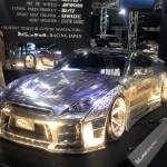 彫刻ペイントでヤン車感!!東京オートサロン2015フルカスタム日産R35GT-R!