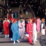 刺繍ランに特攻服シーズン到来!DQNなヤンキー卒業生が岡山駅を賑わせた!!
