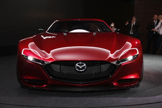 マツダがRX-VISIONコンセプト次世代車「RX-9」?を公開した!!美しすぎるボディ!
